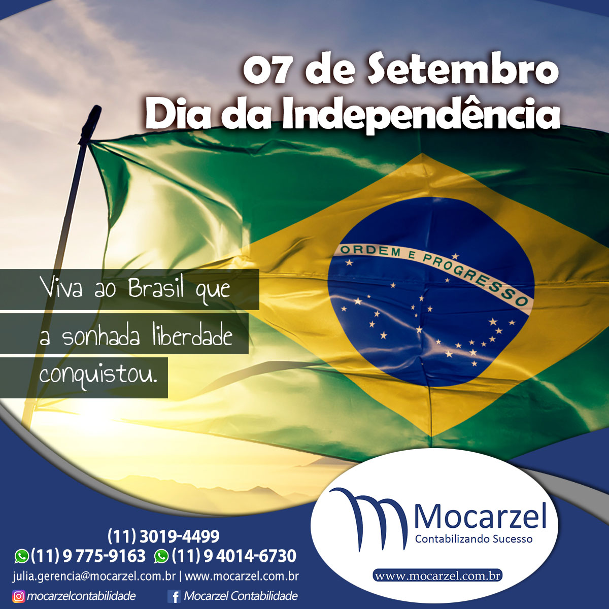 Foto sobre EXPEDIENTE CONTÁBIL 06 E 07 DE SETEMBRO.